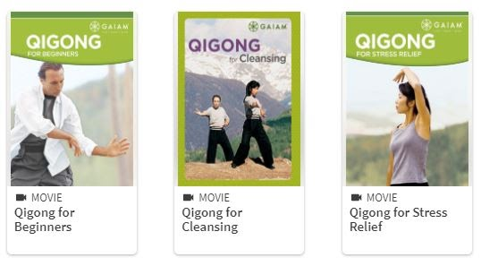 Qigong courses from Gaiam on Hoopla