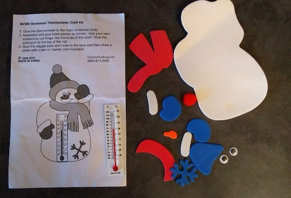 Snowperson craft collection